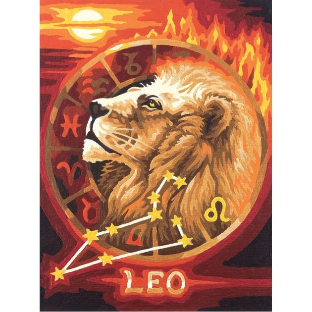 Раскраска по номерам Schipper Знаки Зодиака Лев 9390676