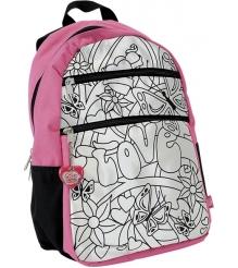 Рюкзак для девочки Color Me Mine Violetta и 5 маркеров для его раскрашивания 637...