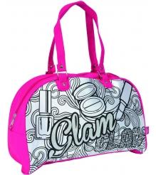 Детская сумка раскраска Color Me Mine Violetta Glam и 5 маркеров 6371193