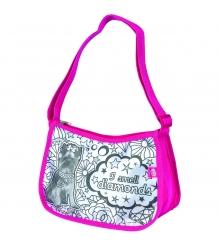 Детская сумка раскраска Color Me Mine Violetta Hipster и 5 маркеров 6371195...
