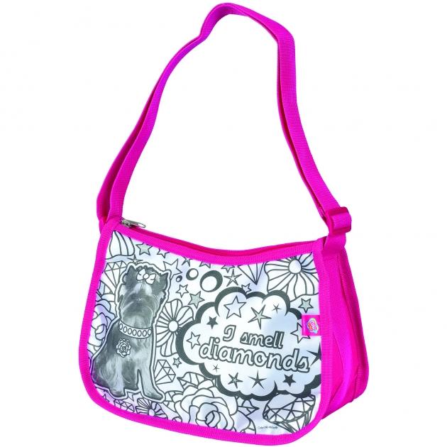Детская сумка раскраска Color Me Mine Violetta Hipster и 5 маркеров 6371195