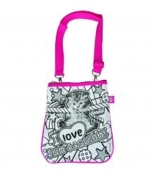 Детская сумка раскраска Color Me Mine Violetta Котенок и 4 маркера 6371194...