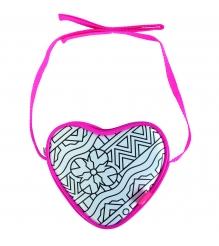 Детская сумочка раскраска Color Me Mine Change Сердечко и 4 маркера 6371459...