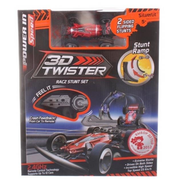 Радиоуправляемая машина Silverlit 3D Twister с рампой 82338