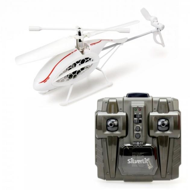 Детский радиоуправляемый вертолет Silverlit 4х канальный вертолет Феникс ИК 84730S