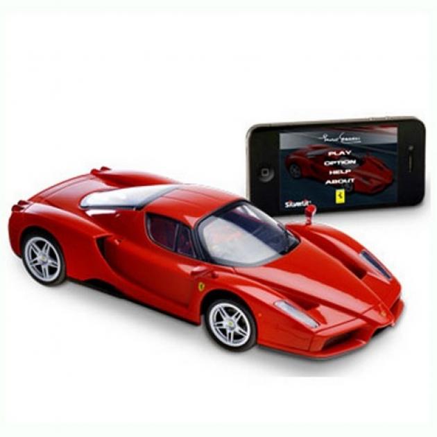 Радиоуправляемая машина Silverlit с управлением от iPhone/iPad/iPod через Bluetooth Ferrari Enzo 1:16 86067
