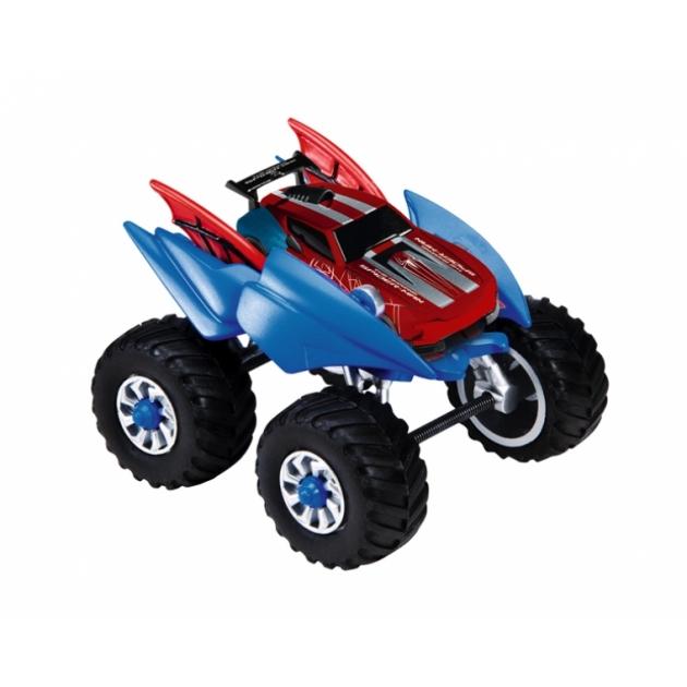 Машинка Человека Паука с шасси Majorette красная 3089798