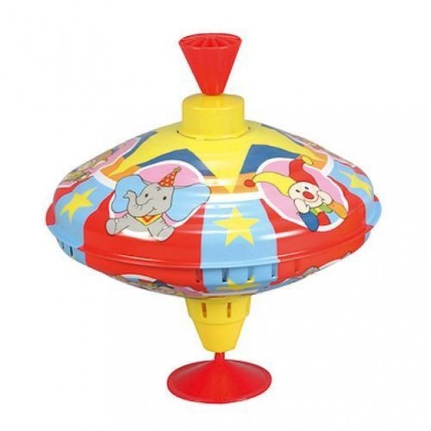 Музыкальная юла Simba ABC Цирк со слонами большая диаметром 21 см 4011891