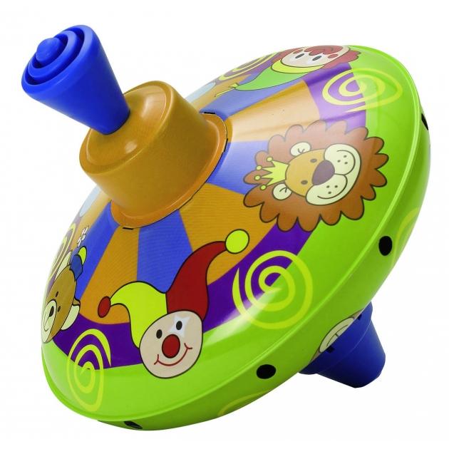 Музыкальная юла Simba ABC Цирк со львами малая 14 см 4011893