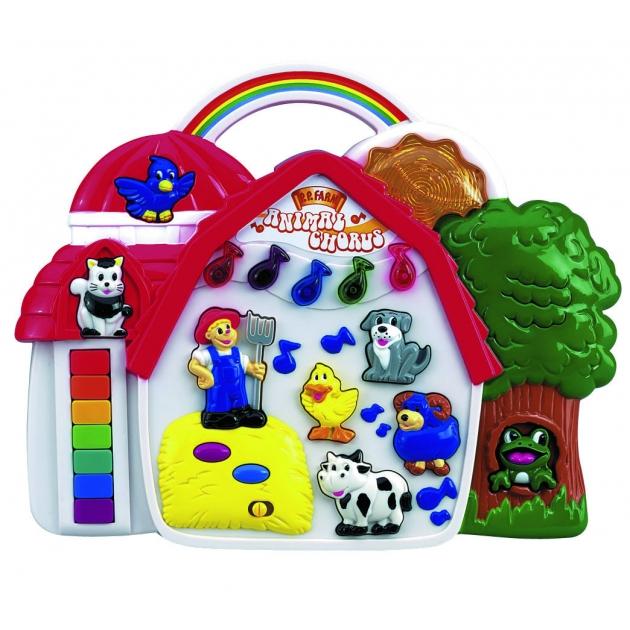 Музыкальная игрушка Simba ABC Ферма со световыми эффектами 4012467