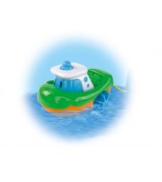 Заводная лодочка Simba ABC голубая 4014299