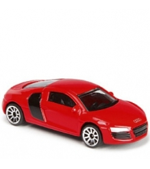 Коллекционная машинка Majorette 7.5 см Audi красная 205279