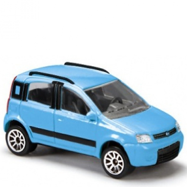 Коллекционная машинка Majorette 7.5 см Fiat голубая 205279