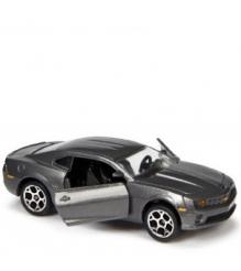 Коллекционная машинка Majorette 7.5 см Chevrolet чёрная 205279...