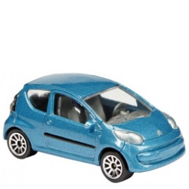 Коллекционная машинка Majorette 7.5 см Citroën голубая 205279