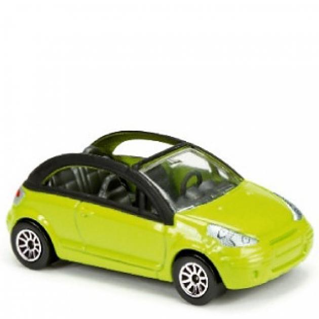 Коллекционная машинка Majorette 7.5 см Fiat жёлтая 205279