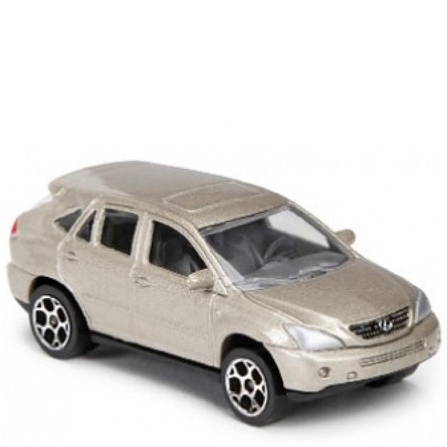 Коллекционная машинка Majorette 7.5 см Lexus бежевая 205279
