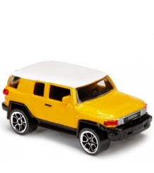Коллекционная машинка Majorette 7.5 см Toyota жёлтая 205279...