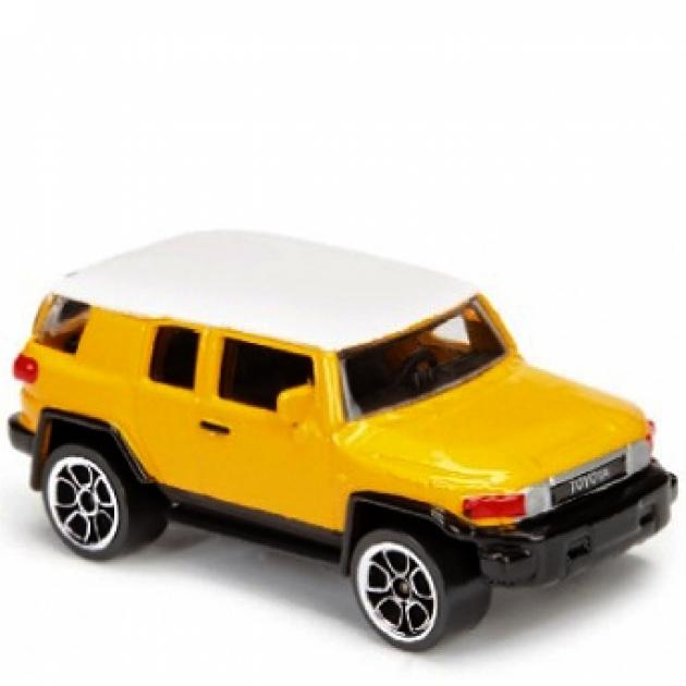Коллекционная машинка Majorette 7.5 см Toyota жёлтая 205279
