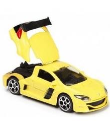 Коллекционная машинка Majorette 7.5 см Reno жёлтая 205279...