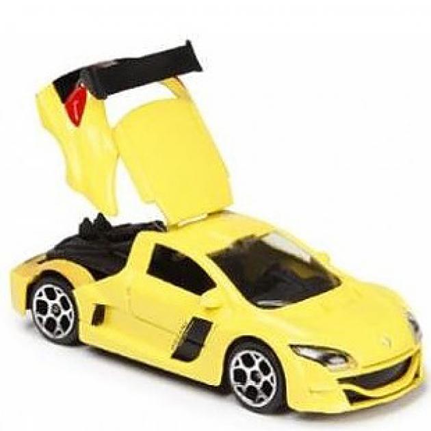 Коллекционная машинка Majorette 7.5 см Reno жёлтая 205279