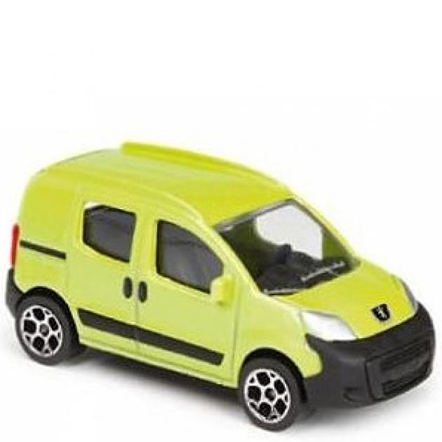Коллекционная машинка Majorette 7.5 см Peugeot жёлтая 205279