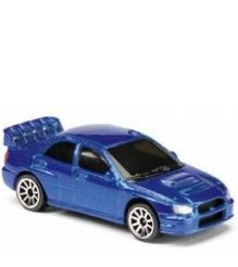 Коллекционная машинка Majorette 7.5 см Subaru синяя 205279...