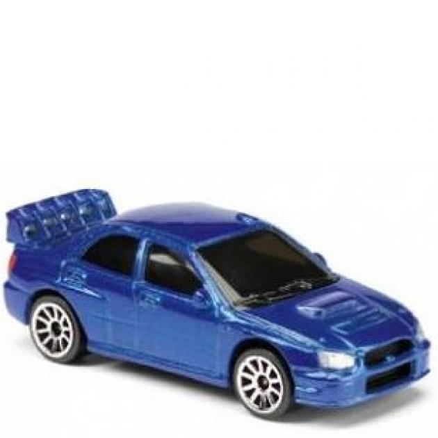 Коллекционная машинка Majorette 7.5 см Subaru синяя 205279