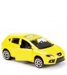 Коллекционная машинка Majorette 7.5 см Seat жёлтая 205279...