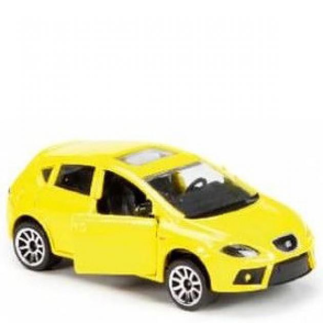 Коллекционная машинка Majorette 7.5 см Seat жёлтая 205279