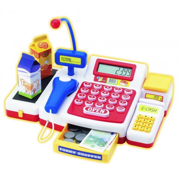 Детская цифровая касса со сканером Simba Супермаркет 4525700