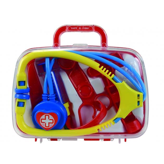 Детский набор доктора в чемоданчике с ручкой Simba 5545260