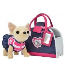 Собачка Chi Chi Love Чихуахуа Джинсовый стиль с сумкой 5890599...
