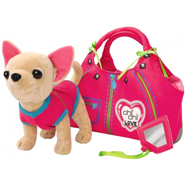 Собачка Chi Chi Love Чихуахуа Zipper с сумочкой 5890617