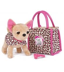 Собачка Chi Chi Love Лео с сумочкой и ошейником 5892281...