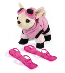 Собачка Chi Chi Love Чихуахуа в пуховике с лыжами 5894127...