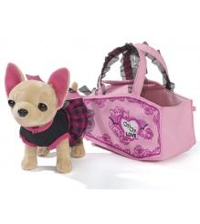 Собачка Chi Chi Love Вампирчик в платье с крылышками в сумочке 5894839...