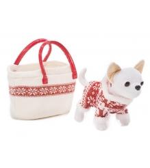 Собачка Chi Chi Love Зимний стиль в зимнем костюмчике с сумочкой 5894845...