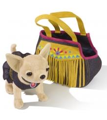 Собачка Chi Chi Love Индийское лето в платье и джинсовой сумочке 5895102...