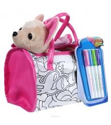 Собачка Chi Chi Love Чихуахуа с сумкой и 4 маркерами 5895299
