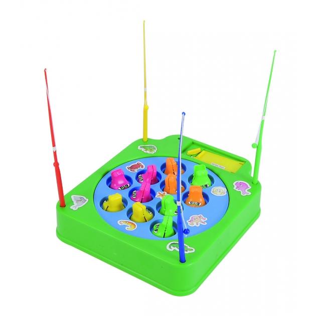 Детская игра рыбалка Simba крокодилы зелёная 6012058
