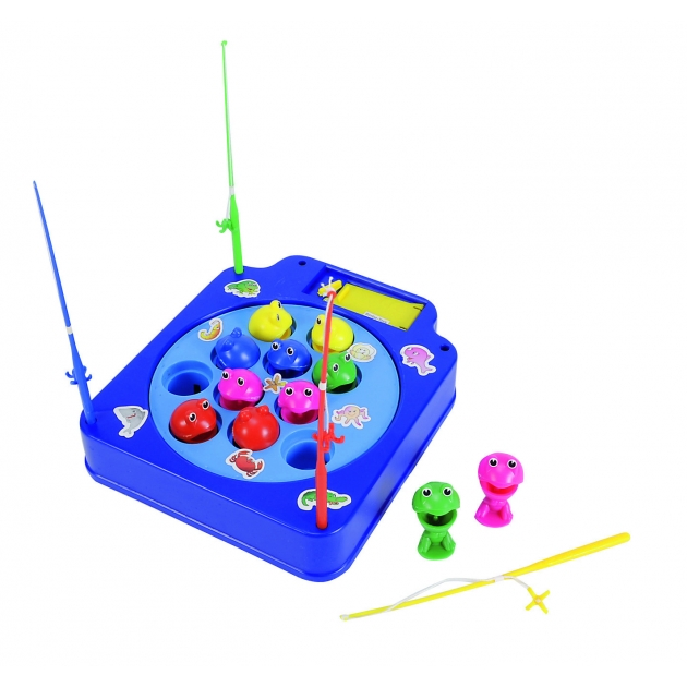 Детская игра рыбалка Simba лягушки синяя 6012058
