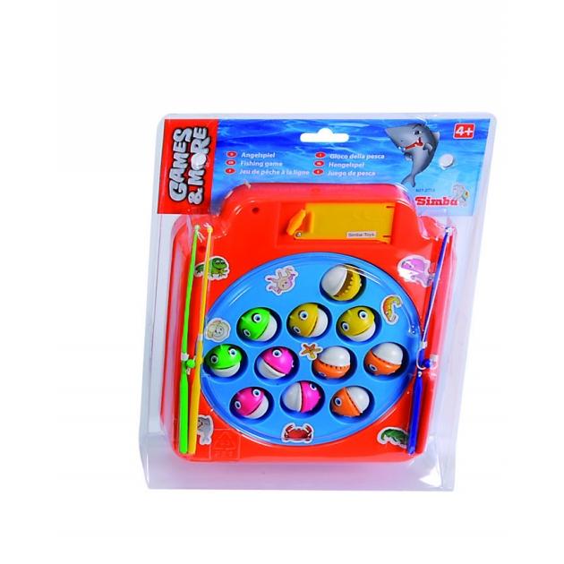Детская игра рыбалка Simba пираньи оранжевая 6012058