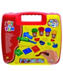 Набор для творчества Simba Art Fun в красном чемоданчике 6330639