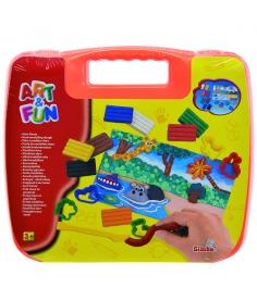 Набор для творчества Simba Art Fun в оранжевом чемоданчике 6330639...