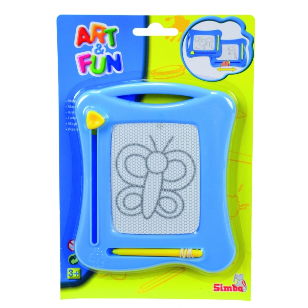 Доска для рисования Simba Art Fun голубая 6334984