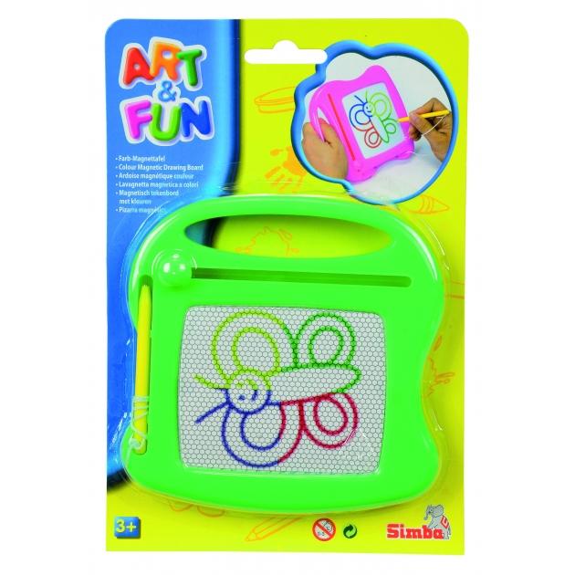 Доска для рисования Simba Art Fun зеленая 6334984