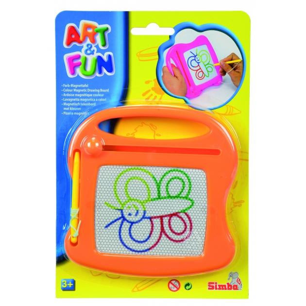 Доска для рисования Simba Art Fun оранжевая 6334984