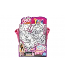 Детская сумка раскраска Color Me Mine Алмазный блеск 5 перманентных маркеров 637...