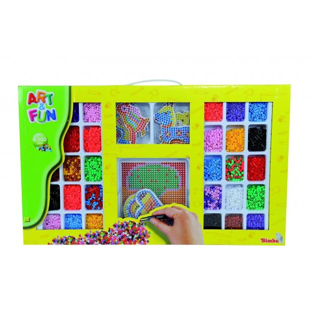 Термо мозаика Simba Art Fun набор с 6000 бусинок 6377467